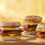 Triple Breakfast Stacks (McDonald's)