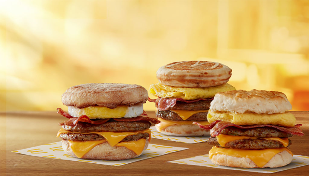 Triple Breakfast Stacks (McDonald's)
