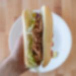 Generic roast beef sandwich