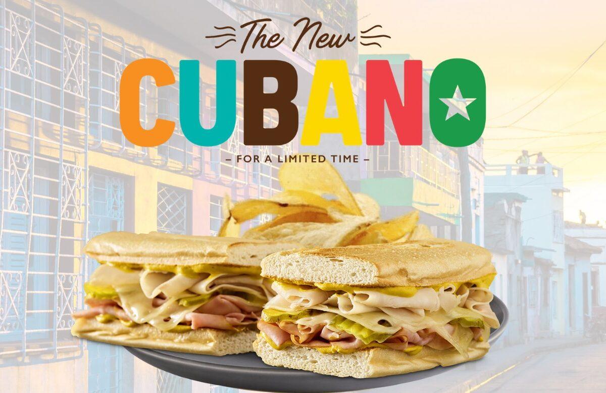 Cubano Sandwich at Quiznos