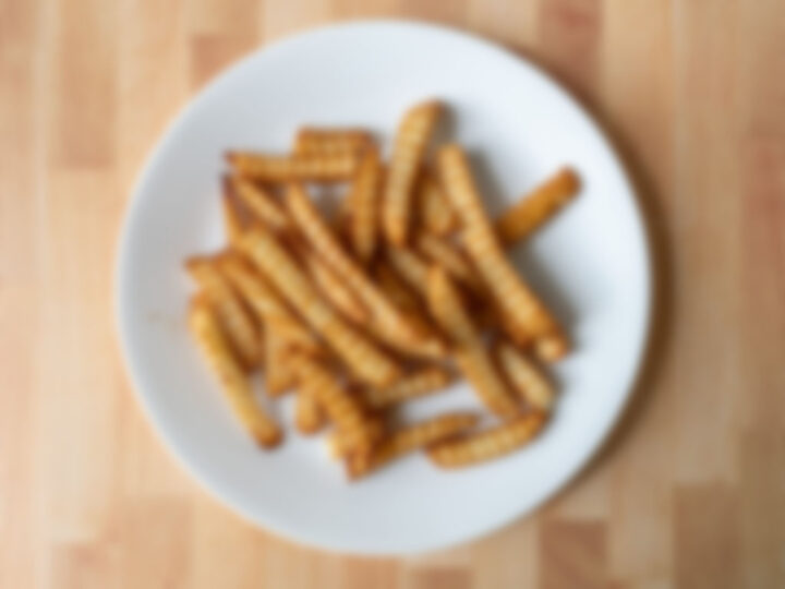Generic crinkle cut fries