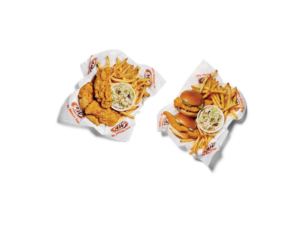 A&W Hand-Breaded Chicken Tender Baskets