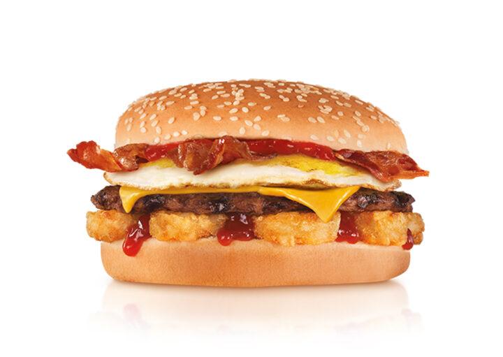 CArl's Jr. Breakfast Burger