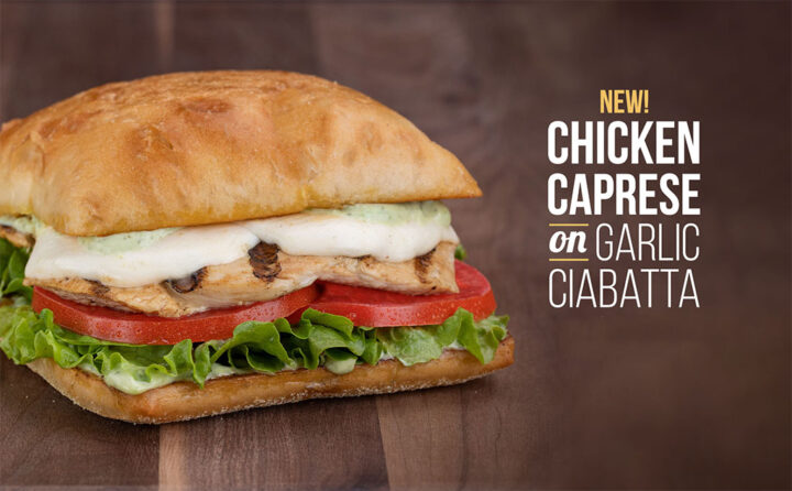 Chicken Caprese Available Now At Habit Burger