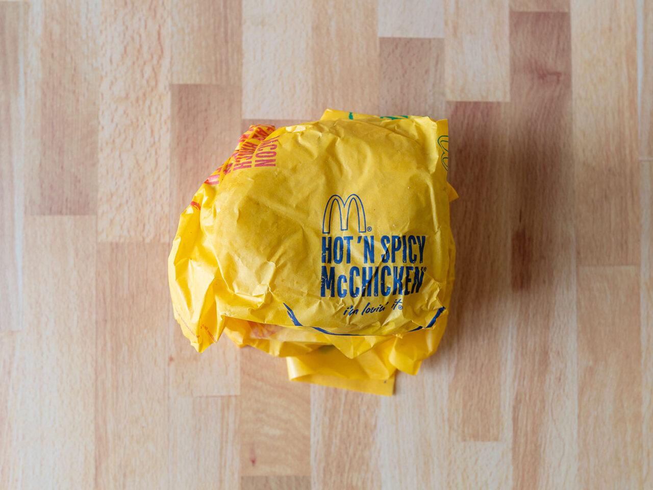 McDonald's Hot N Spicy McChicken