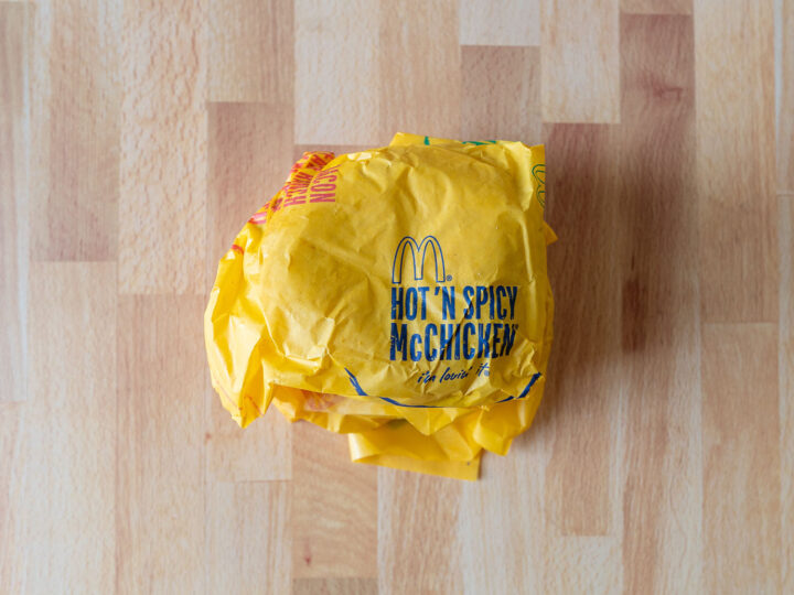 McDonald's Hot N Spicy McChicken