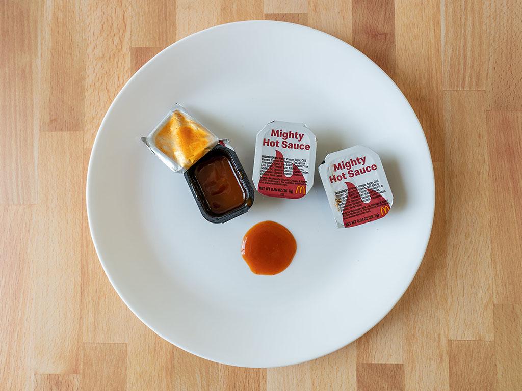McDonald's Mighty Hot Sauce