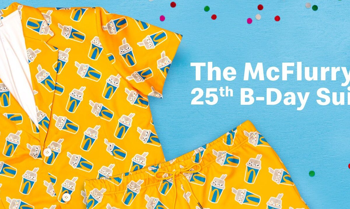 McFlurry 25th B-Day Suit