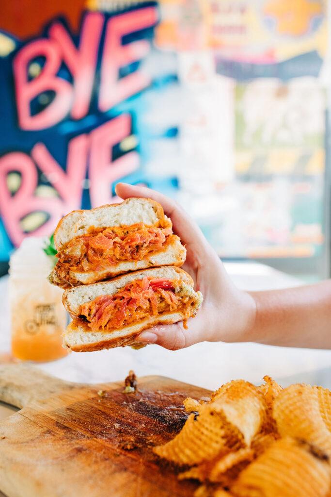 Tandoori Fried Chicken Sandwich