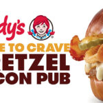 Wendy's Introduces Pretzel Bacon Pub Cheeseburger