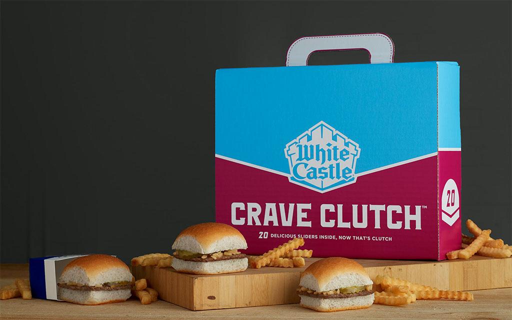 White Castle Crave Clutch