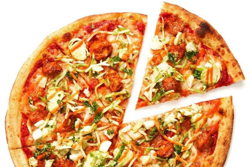 Blazin' Hot Chicken Pizza