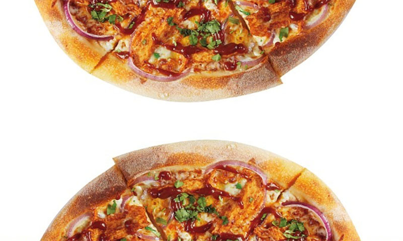 CPK plant based chicken pizza