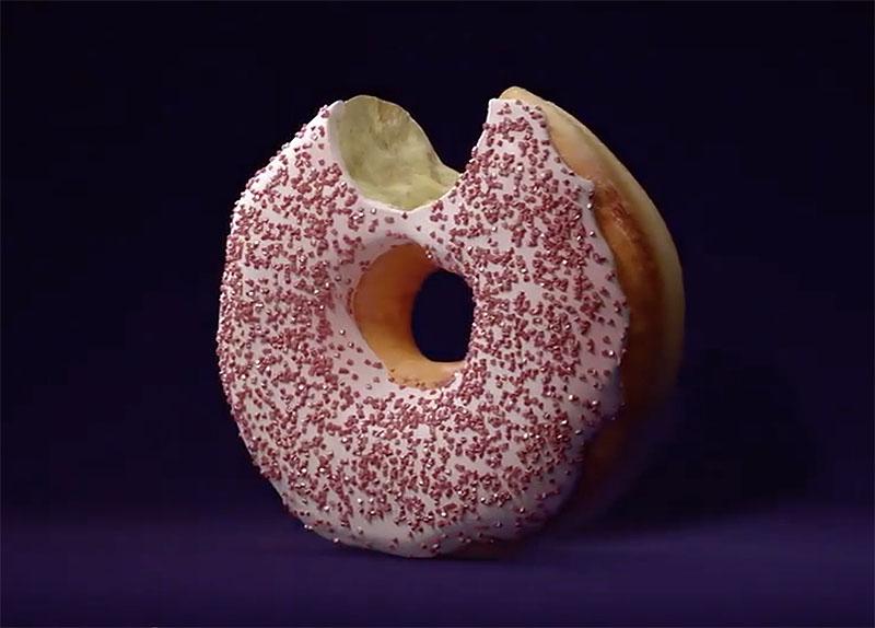 Dunkin' All New Ghost Pepper Donut
