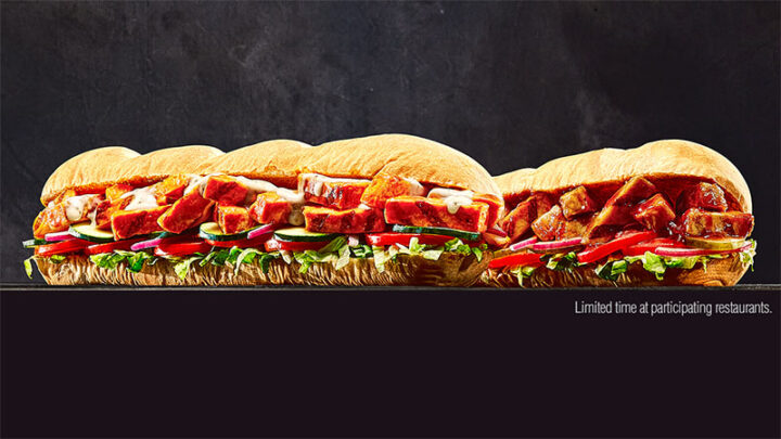 New Game Day Subway Subs