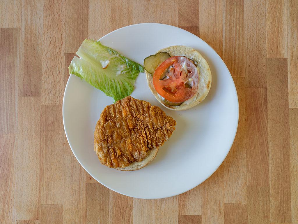 Wendy's Classic Chicken Sandwich sandwich contents