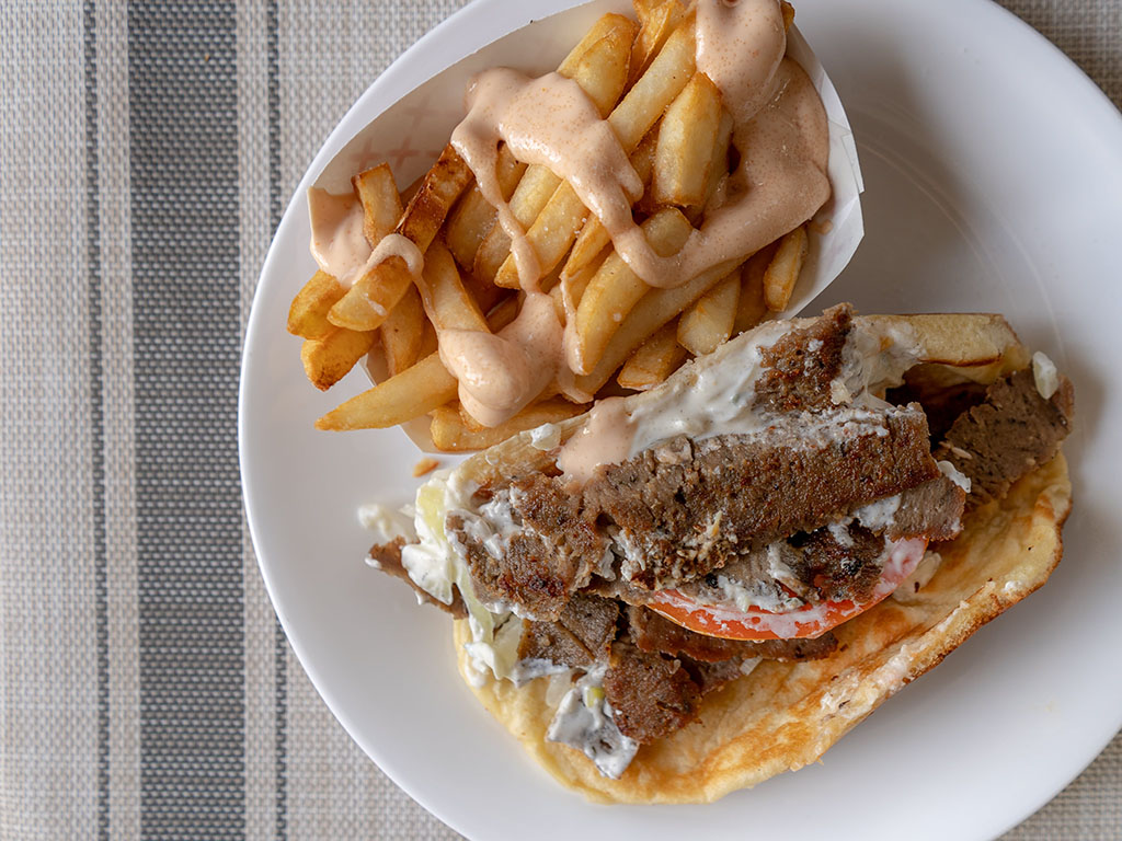 Another greek gyro from a Utah indepedant restaurant