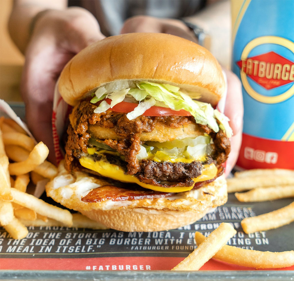 Fatburger - Hang In There Burger