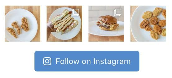 Follow us on Instagram sidebar2