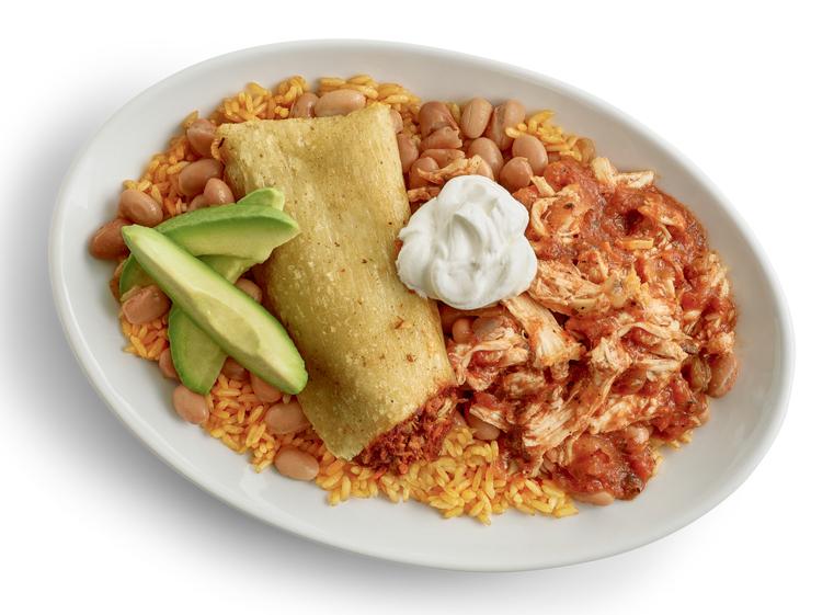El Pollo Loco Crispy Tamale and Tinga Bowl
