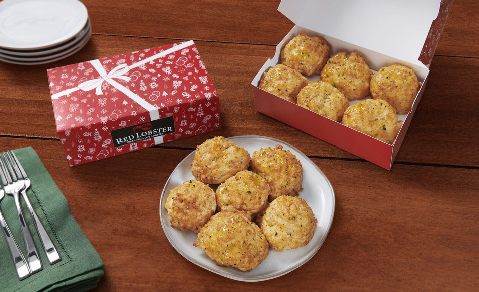 Red Lobster Cheddar Bay Biscuits Gidt Box