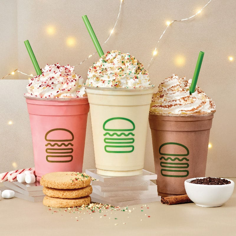 Shake Shack Holiday Shakes