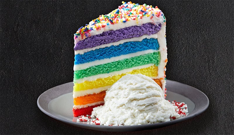 TGI Fridays Eye Popping New Cake