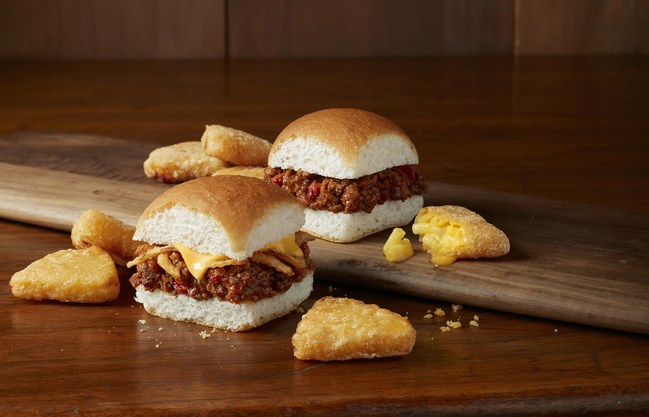 White Castle Sloppy Joe