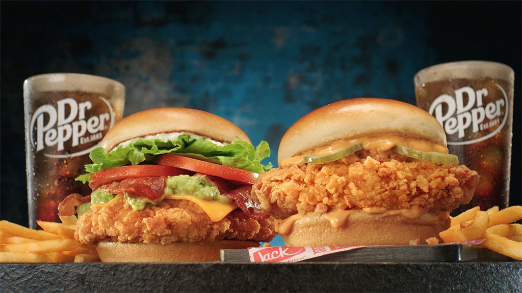 Jack In The Box - Cluck Sandwich