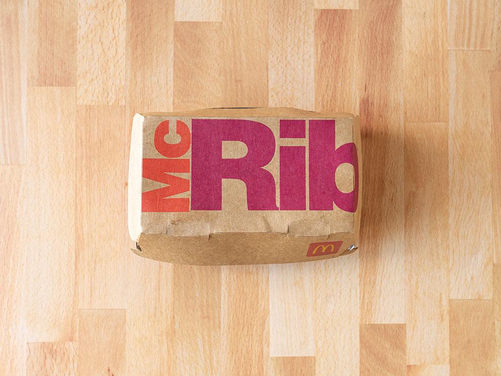 McRib box