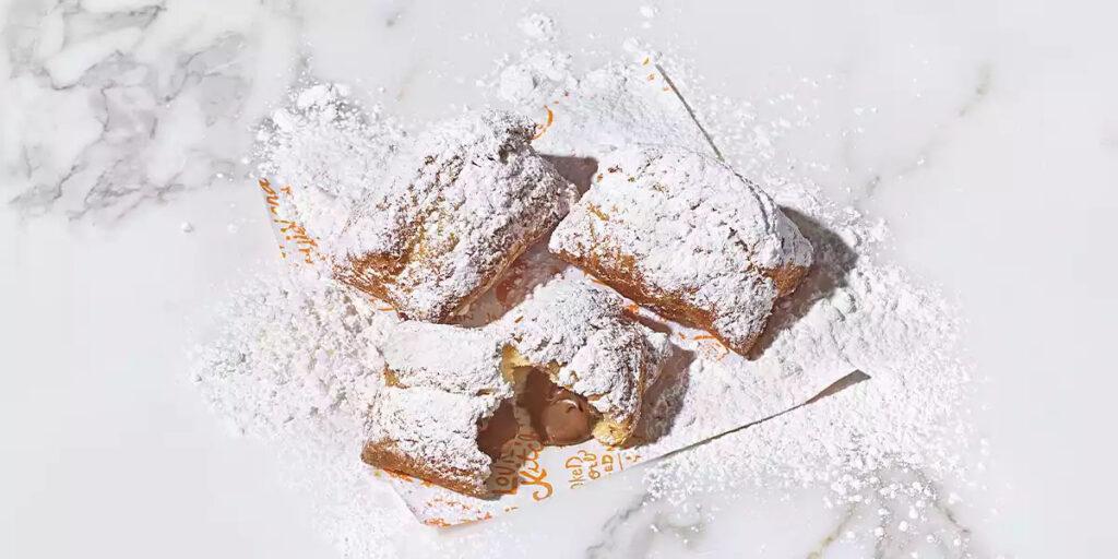 Popeyes Chocolate Beignets