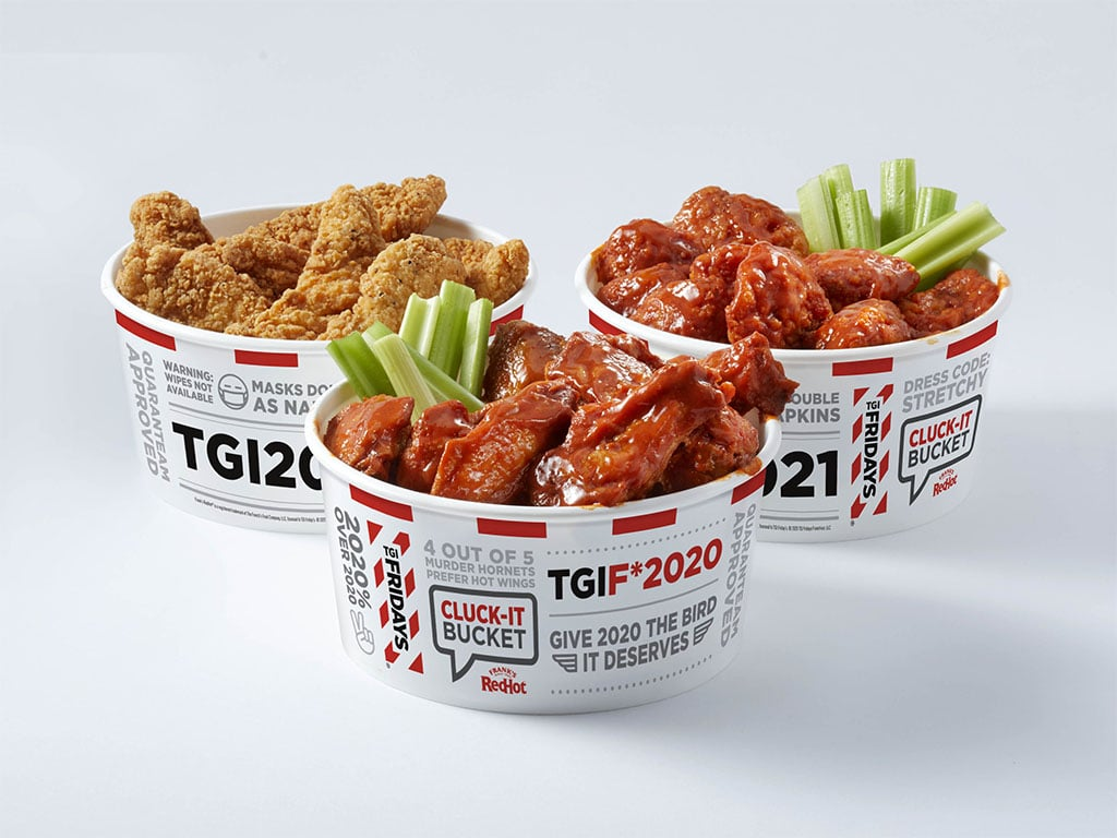 TGI Fridays Cluck-It Bucket