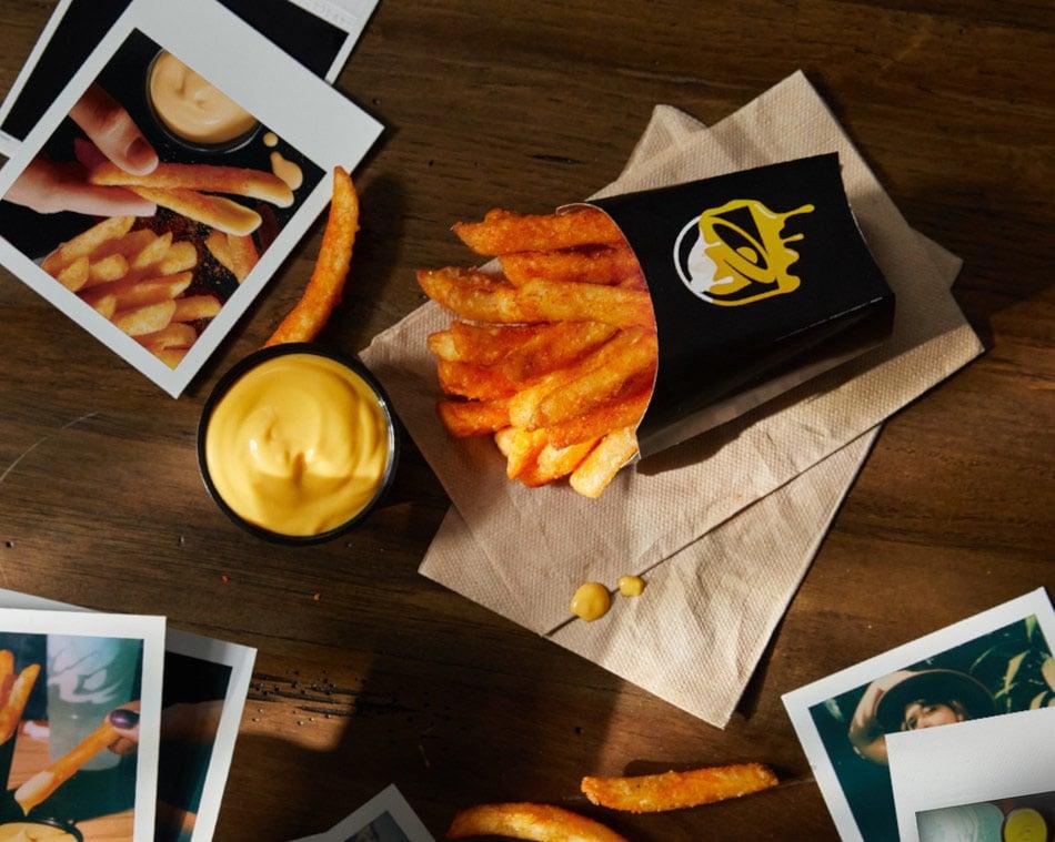 Nacho Fries at Taco Bell this Christmas