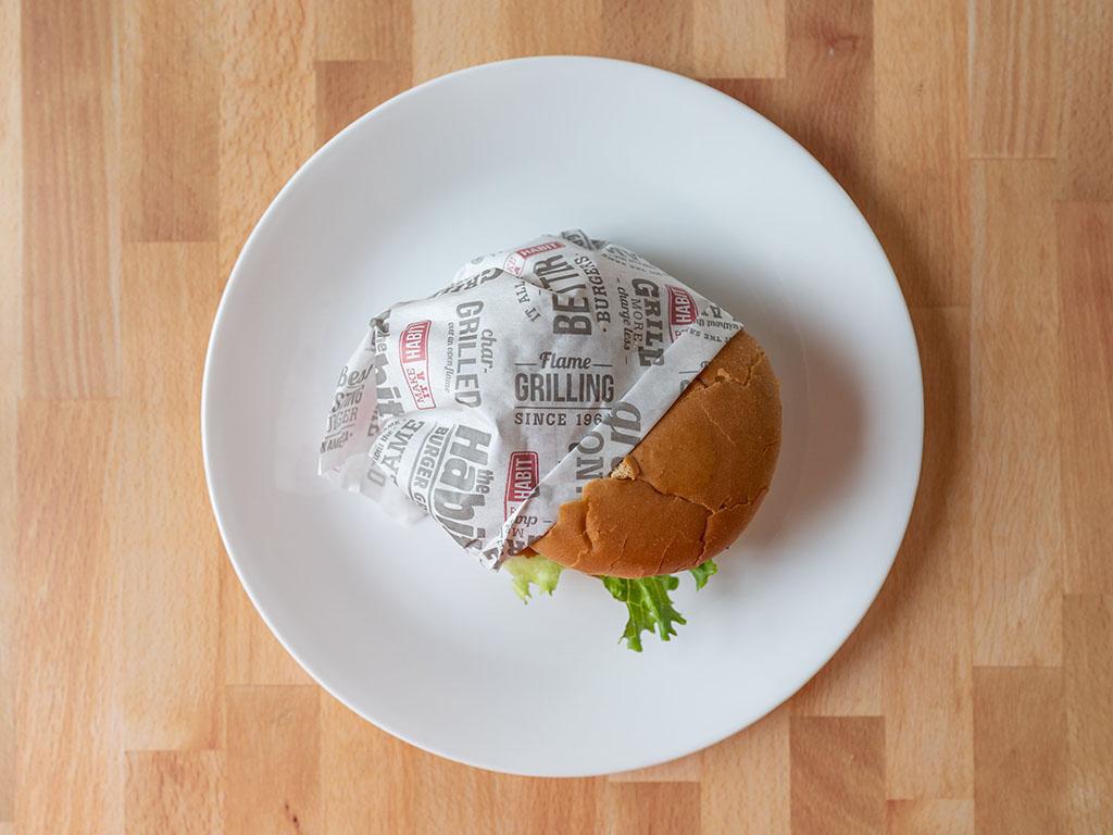 The Habit Burger - Crispy Chicken Sandwich wrapped