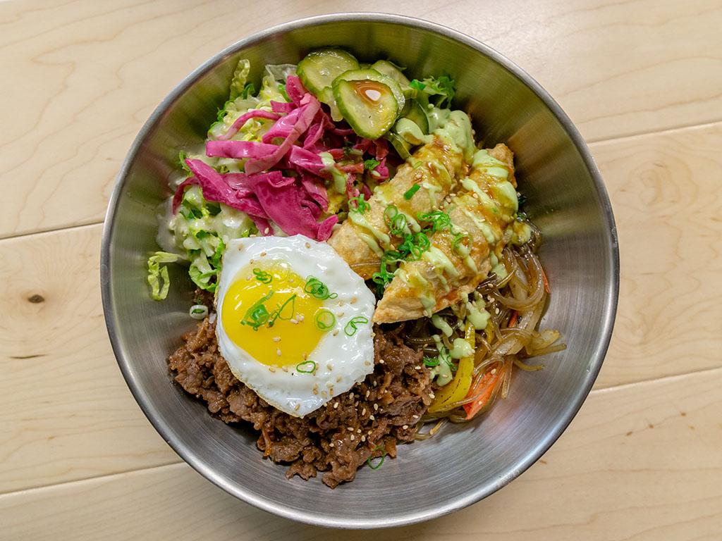 Korean bowl from Utah restaurant