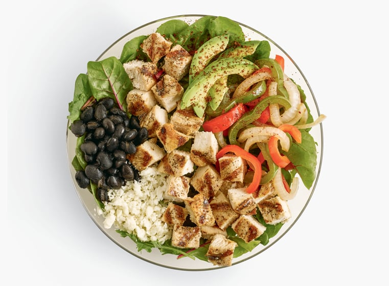El Pollo Loco Fit. Double Protein Fajita Fit Bowl