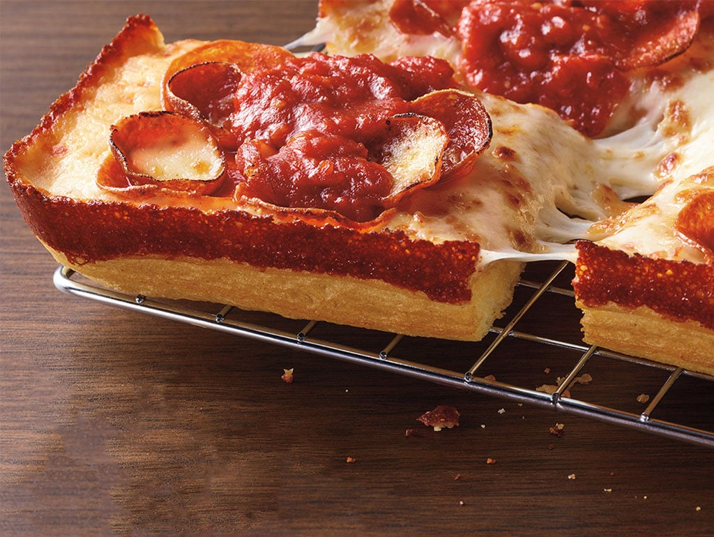 PIzza hut Handcrafted Detroit-Style Pizza