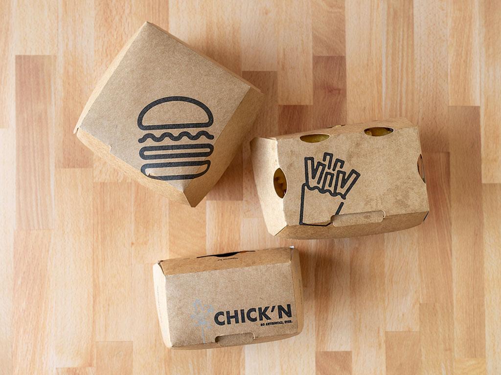 Shake Shack boxes