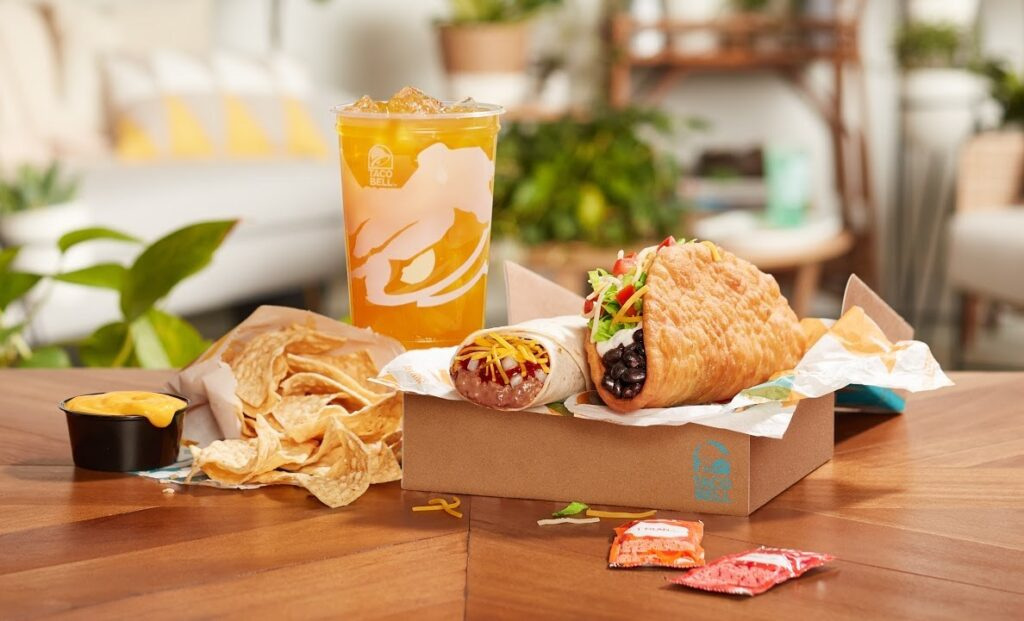 Taco Bell's all new $5 Build Your Own Cravings Box