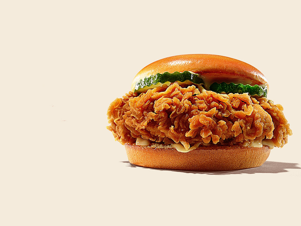 BK's new Hand Breaded Chicken Sandwich