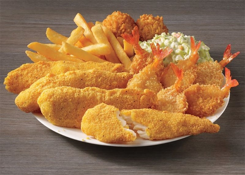 Captain D's Southern-Style Fish Tenders & Butterfly Shrimp
