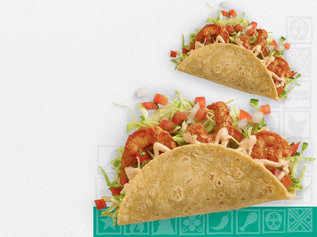 El Pollo Loco Baja Shrimp Taco