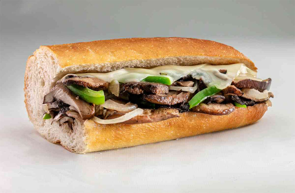 Jersey Mike's Grilled Portabella Mushroom and Swiss Sub