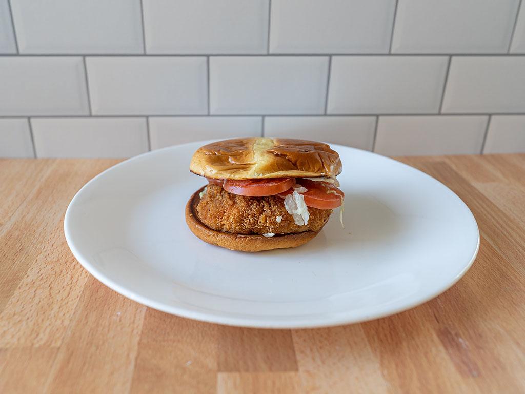 McDonald's new Deluxe Crispy Chicken Sandwich