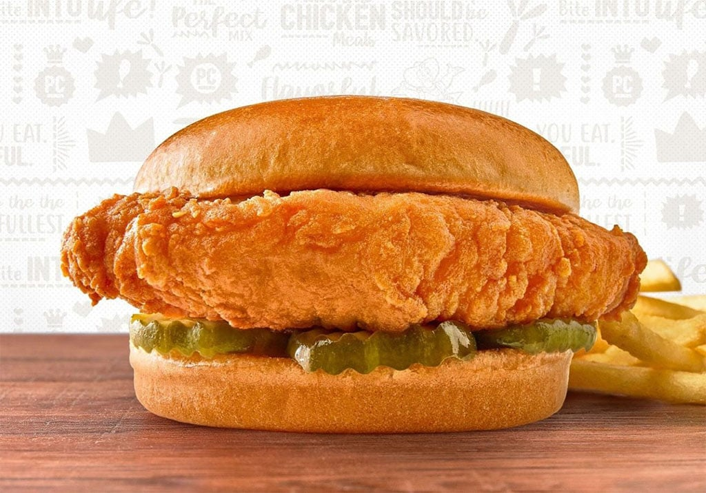 Pollo Campero - new chcken sandwich