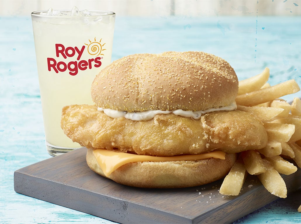 Roy Rogers Beer Battered Cod
