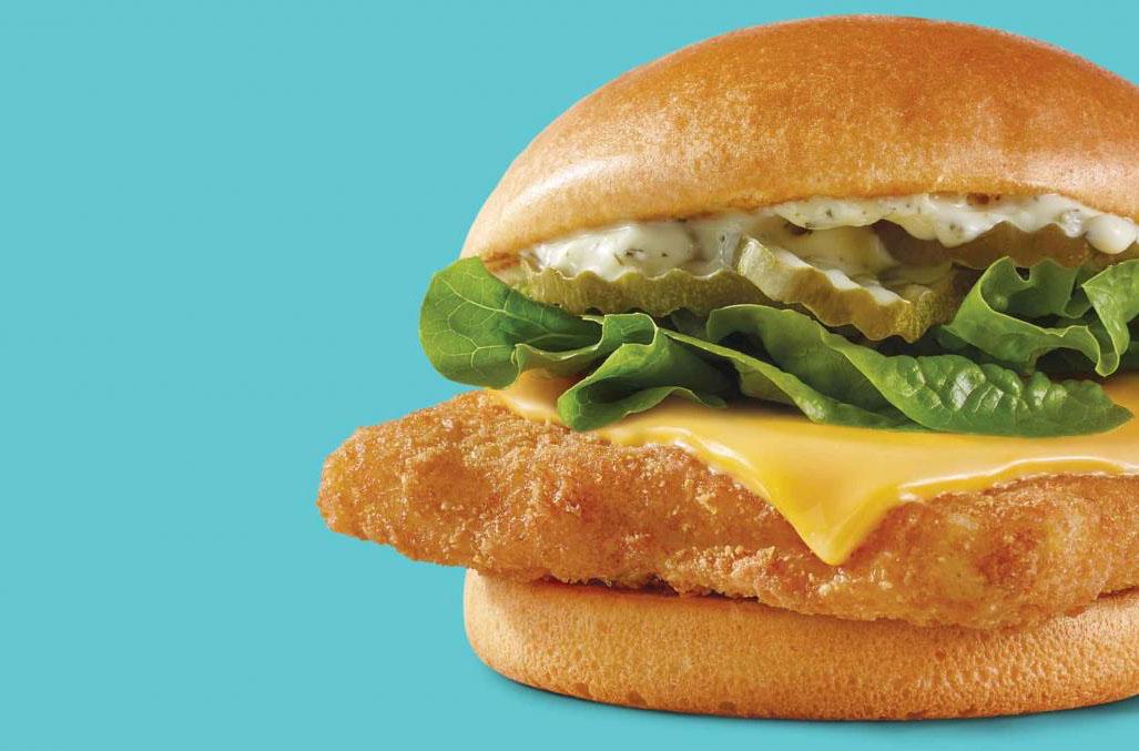 Wendy's Crispy Panko Fish Sandwich