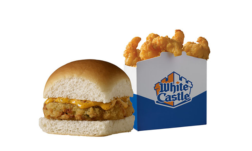 White Castle Crab Cake Sliders and Shrimp Nibblers hit menu