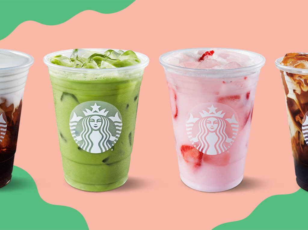 All new Starbucks March 2021 items