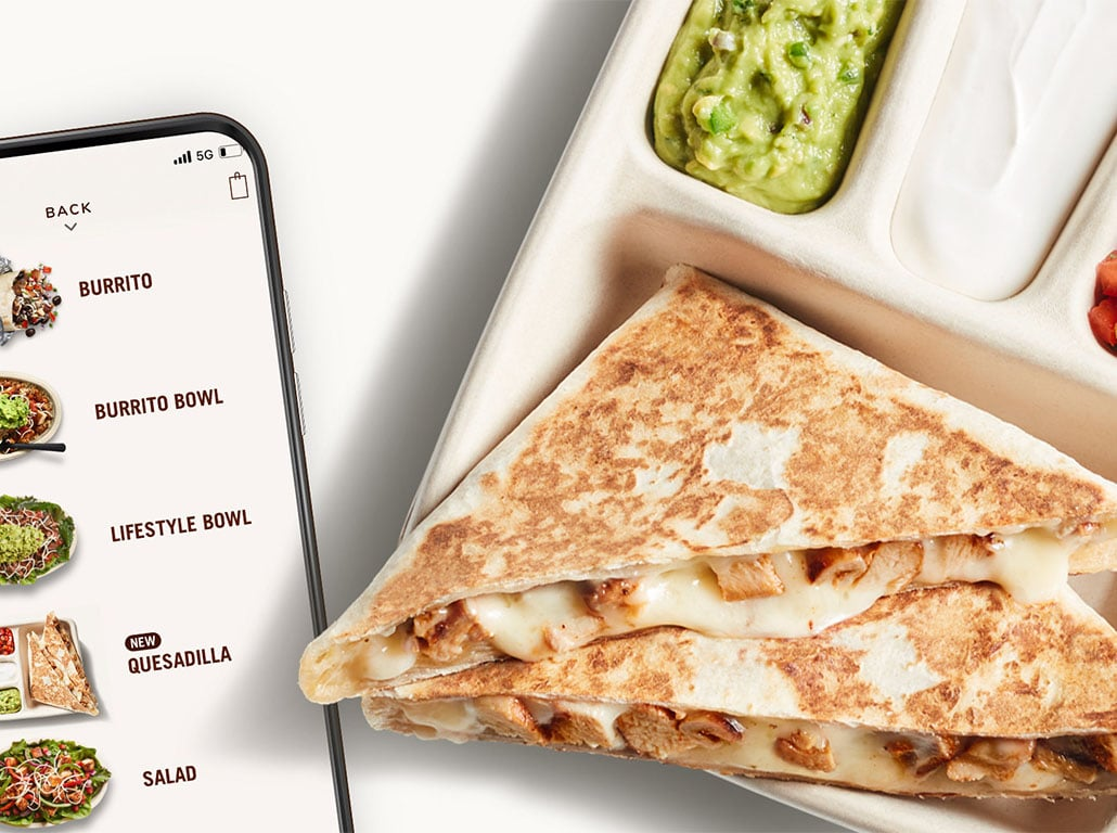 Chipotle new Hand-Crafted Quesadilla
